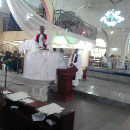Church Service in Honour of Justice Idahosa