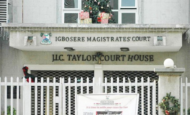 Image result for magistrate court igbosere