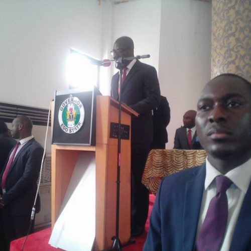 New CJ Edo State 7