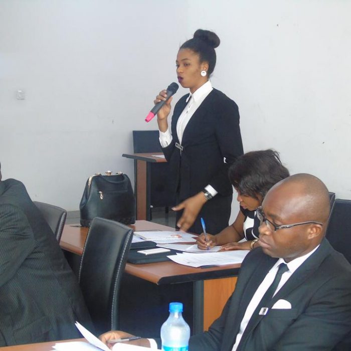 Law Students at the Workshop