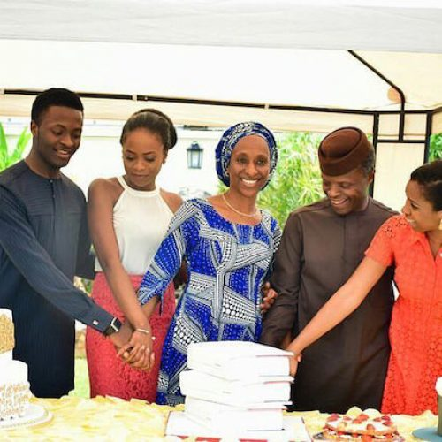 Osinabjo's Family1