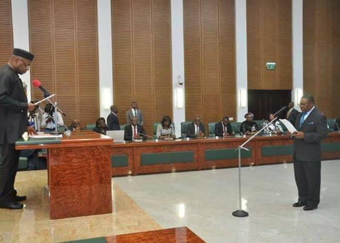 Swearing in of Akwa Ibom New CJ6
