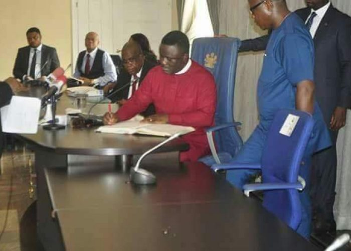 Swearing in of New Acting CJ Cross River State1