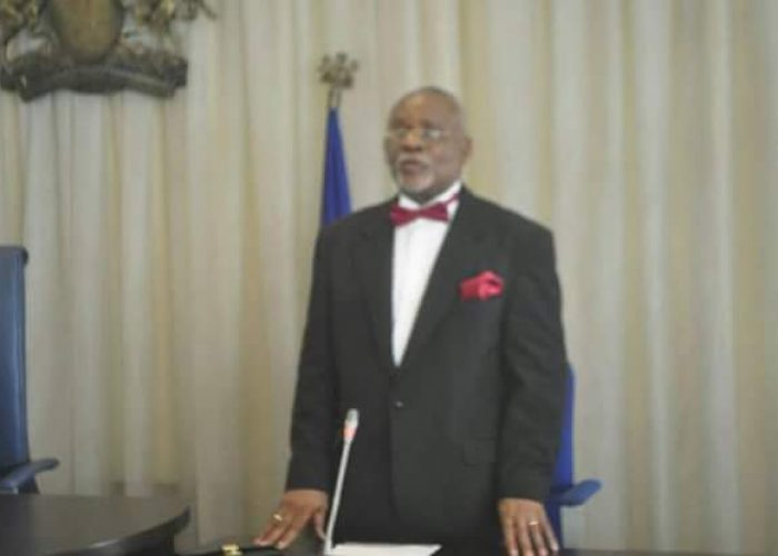 Swearing in of New Acting CJ Cross River State2