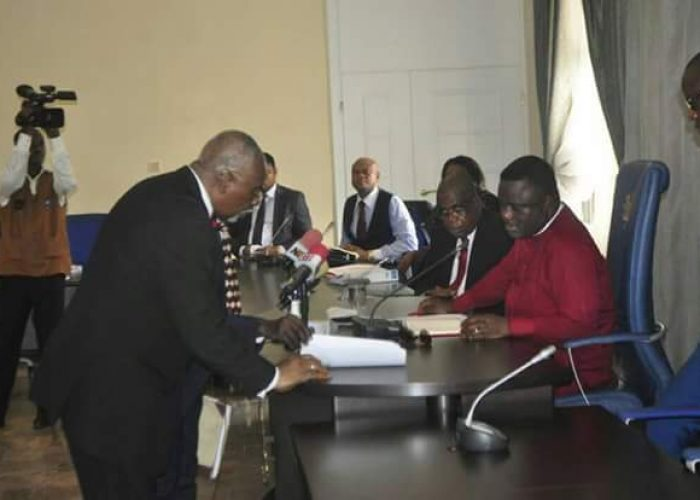 Swearing in of New Acting CJ Cross River State4