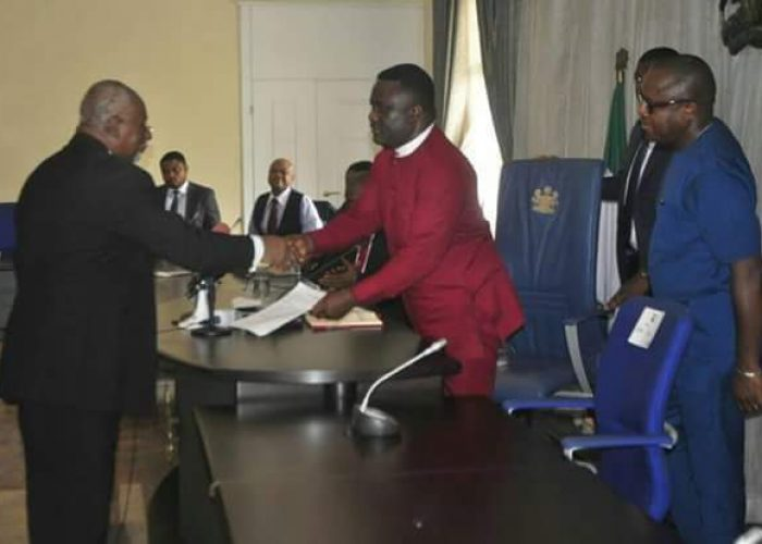 Swearing in of New Acting CJ Cross River State5