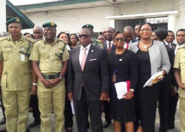 AG Lagos Fact Finding Visit to Kirikiri Prison1