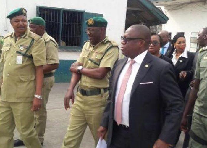 AG Lagos Fact Finding Visit to Kirikiri Prison2