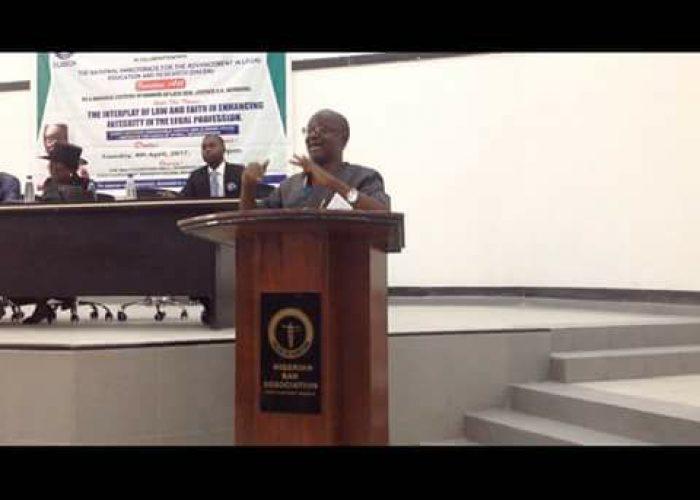 Memorial Lecture in honour of Justice Elizabeth Kinda Mebere4