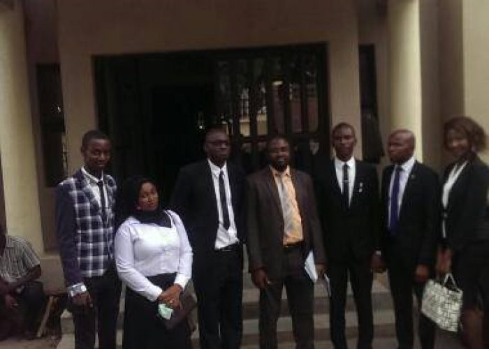 NSUK Law Clinicians @ Legal Aids Counsel10