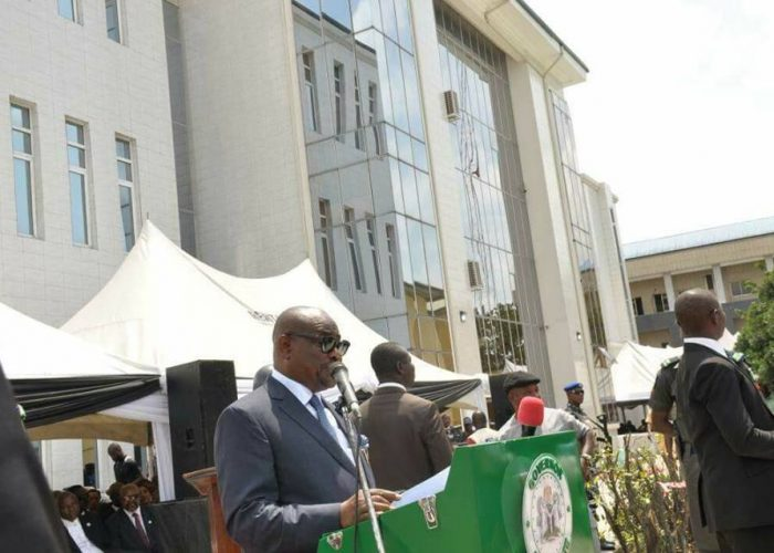 Commissioning of Rivers Federal High Court12