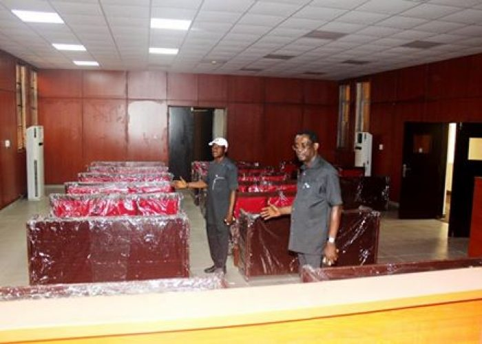 Commissioning of Rivers Federal High Court13