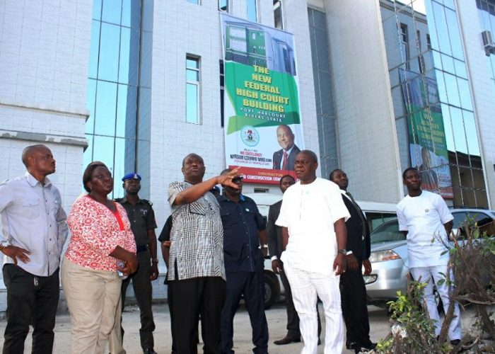 Commissioning of Rivers Federal High Court15