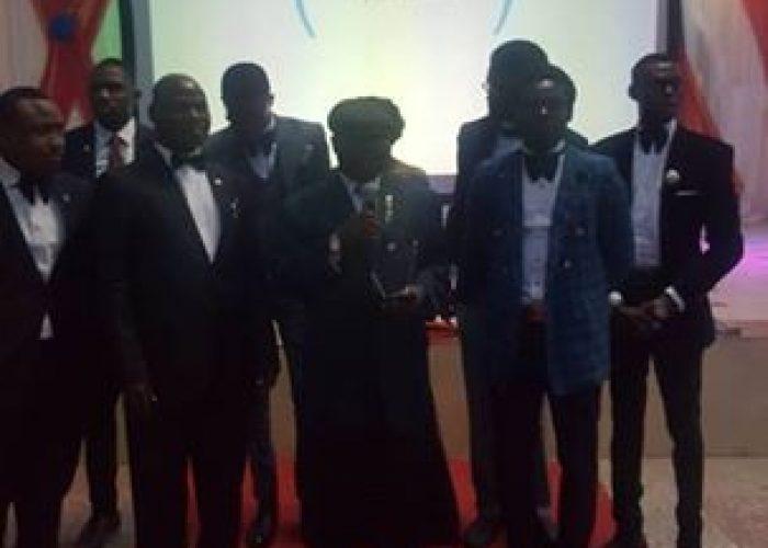NIC CJ Honoured At Afe Babalola University1
