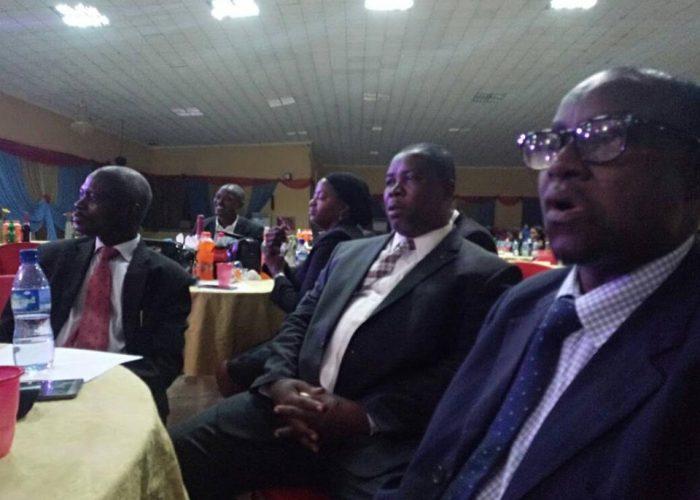 NIC CJ Honoured At Afe Babalola University2