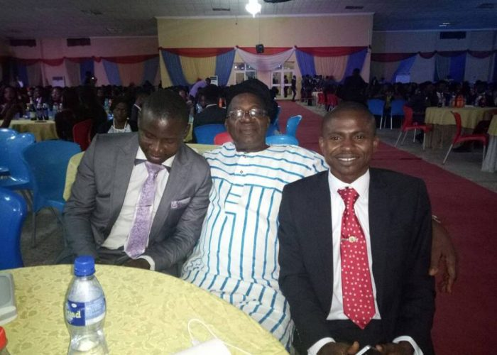 NIC CJ Honoured At Afe Babalola University3
