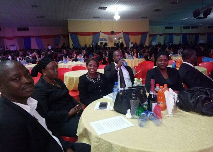 NIC CJ Honoured At Afe Babalola University5