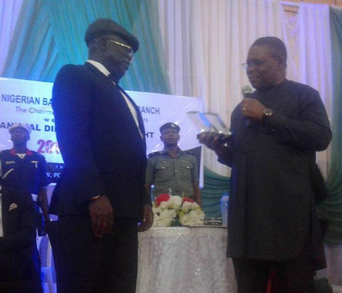 Conferrment of LifeTime Achievement Award to Hon Justice Adejumo1