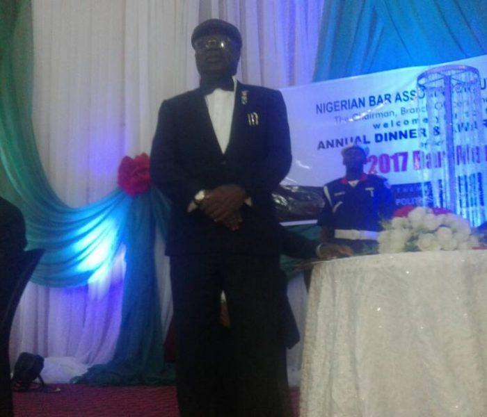 Conferrment of LifeTime Achievement Award to Hon Justice Adejumo9