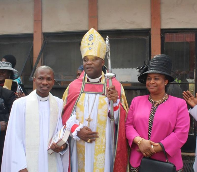 Denyon's Ordination as an Anglican Priest10
