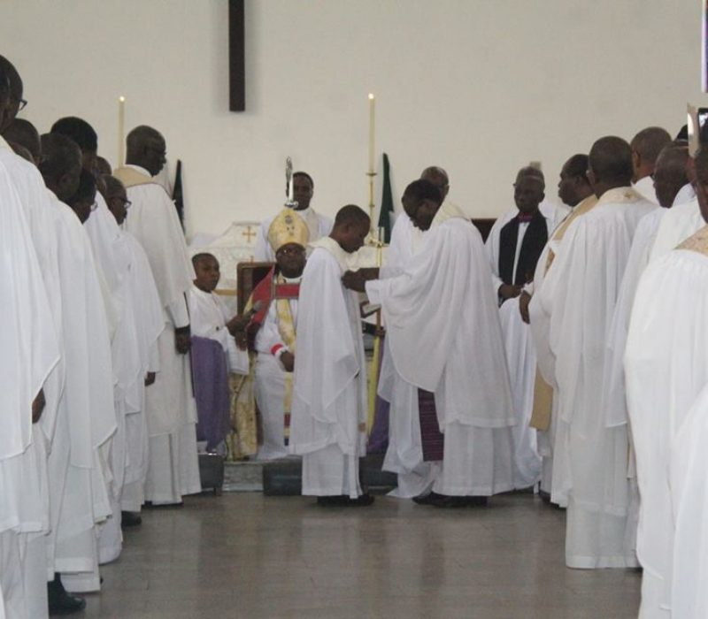 Denyon's Ordination as an Anglican Priest19