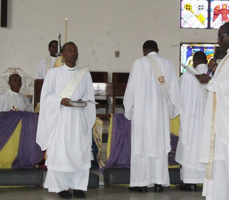 Denyon's Ordination as an Anglican Priest28