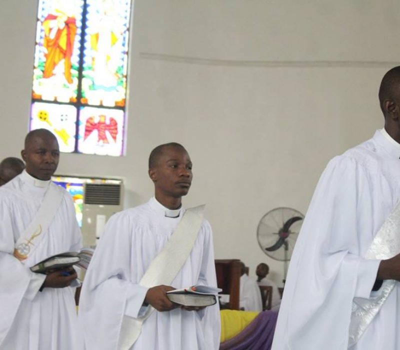Denyon's Ordination as an Anglican Priest33