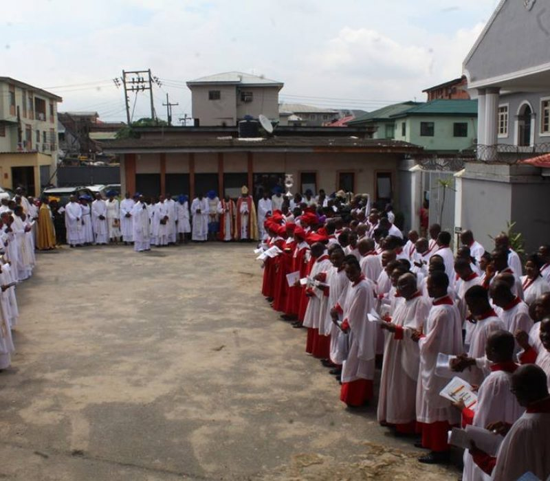 Denyon's Ordination as an Anglican Priest8