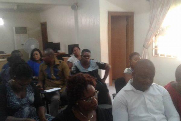 NICN Enugu Capacity Workshop5