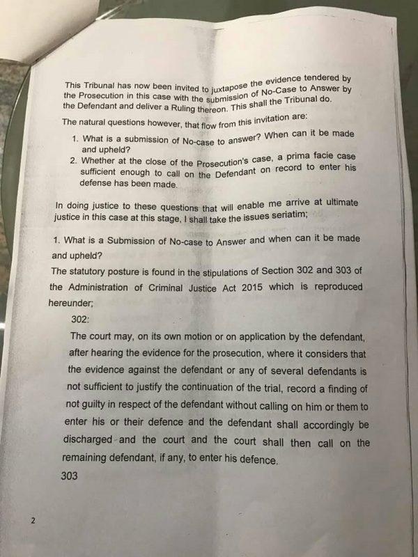 Saraki Judgment Page2