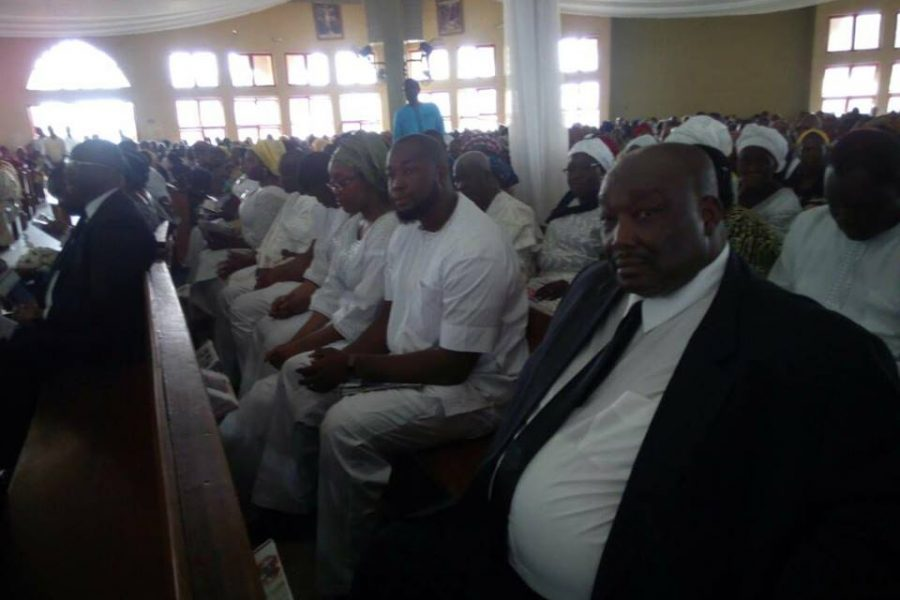 At Late Ranti's Funeral1