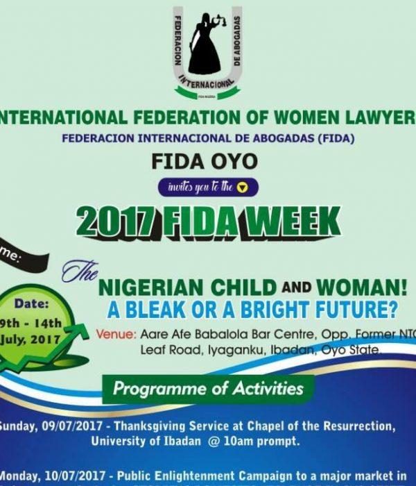 FIDA Oyo Law Week20