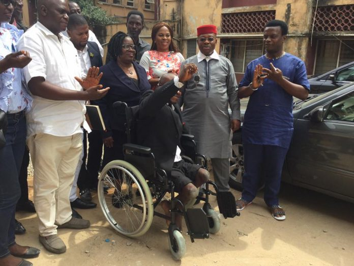 Another Car Gift for Kamarudeen Idowu the Physically Challenged Lawyer