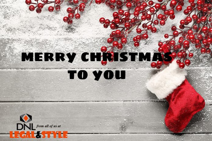 Very Merry Christmas From All of Us at DNL Legal & Style!