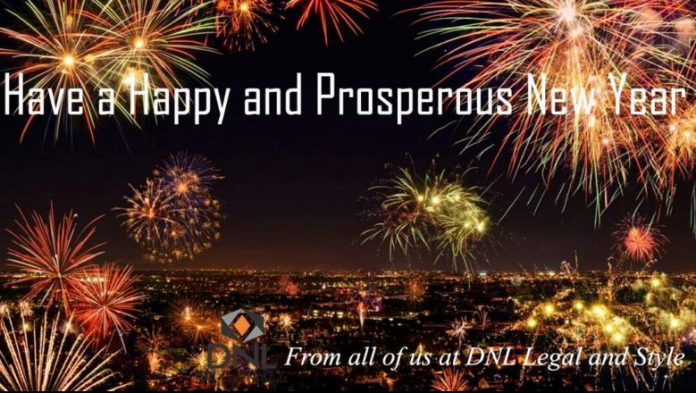 We Wish You a Happy and Prosperous New Year!