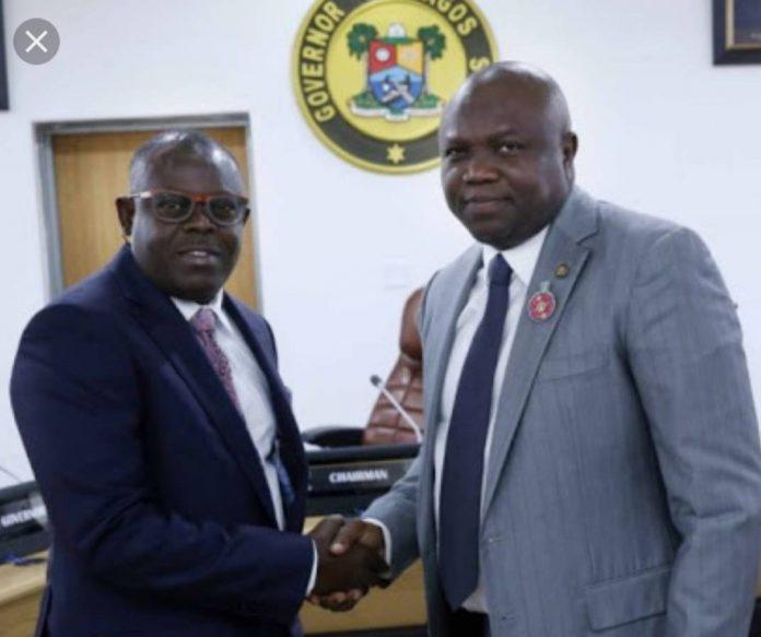 Sesan Tunde Ogundeko Esq. assumes Office as LASIEC Perm. Sec