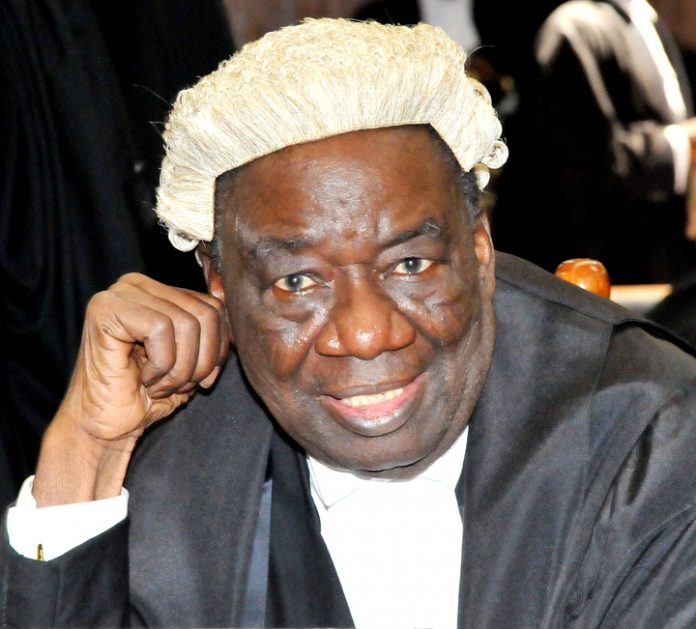 Legal Luminary Profile: Chief Richard Akinjide, SAN