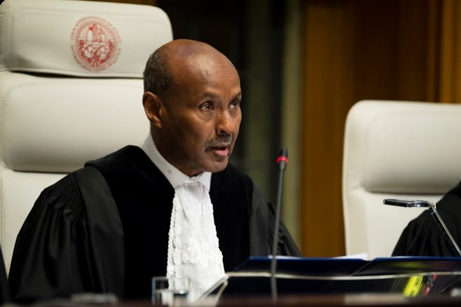 Somalian Abdulqawi Ahmed Yusuf named President of the ICJ