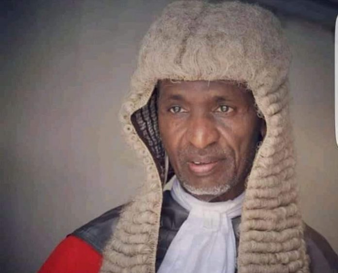Retired Chief Judge Of Taraba State, Justice Adamu Aliyu Is Dead